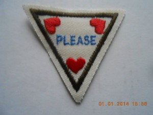 Girl Scouts Try Its Iron-On Patch 59105 Manners