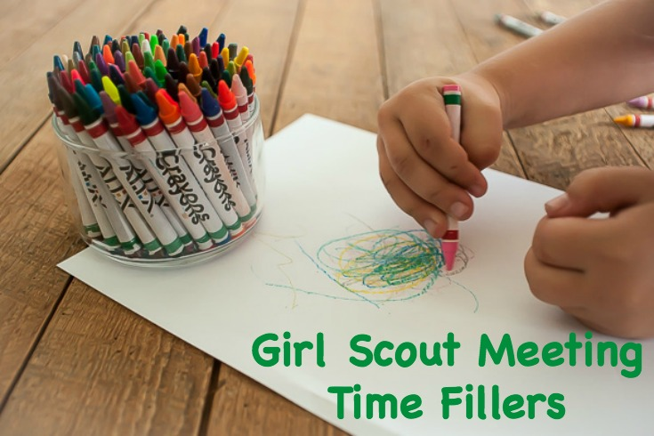 Girl Scout Meeting Time Fillers