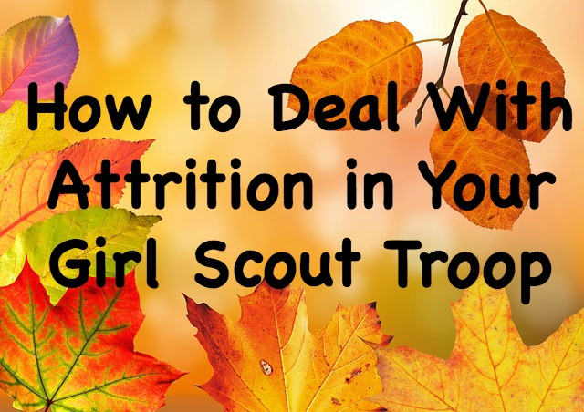 How to handle things when a child leaves your Girl Scout troop