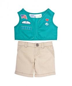 Junior Girl Scout Build A Bear Uniform
