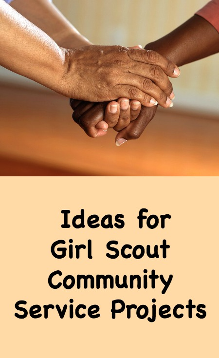 Girl Scout community service project ideas