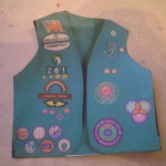 How My Troop Made This Junior Vest Swap