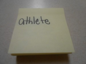 Sticky notes for Flurry of Roles.