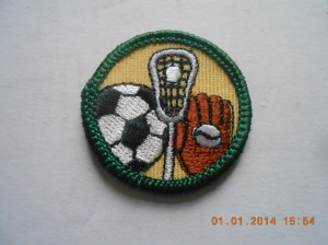 Retired Field Sports Junior badge