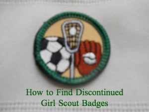 Discontinued Girl Scout badges