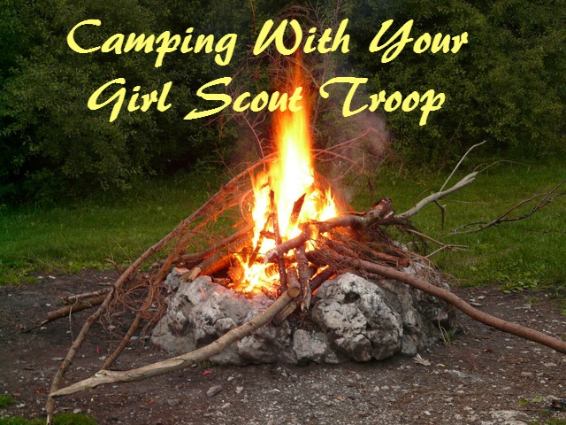 camping with your troop