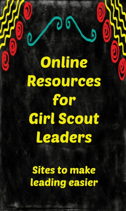 A listing of online Girl Scout leader resources for planning your meetings and activities