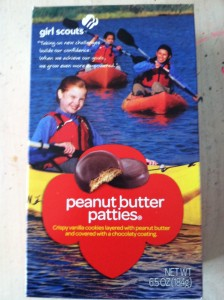 Girl Scout Cookies Peanut Butter Patties by Hanah Gold