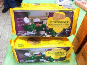Girl Scout Lemonade cookies. Photo by Hannah Gold.