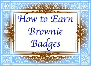 How to Earn Brownie Badges website with meeting plans and resources for every badge in the new program.