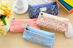 Pretty makeup pouches/pencil cases are perfect bridging gifts for girls.