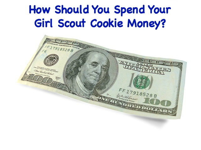 How can you fairly spend your troop's Girl Scout cookie money?