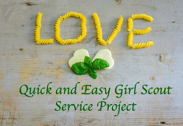 Here is a Girl Scout service project that is easy to do and will make an enormous difference in your community.