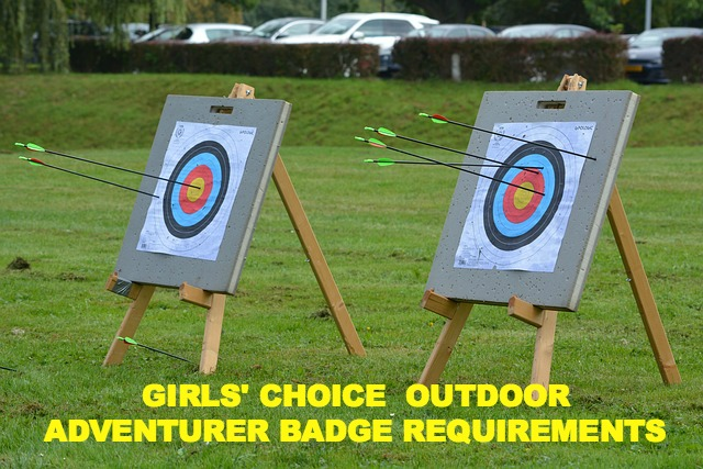 Free downloads of the new Girl Scout Outdoor Badge Requirements