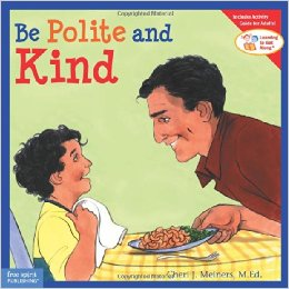 This book can be used for a Daisy Girl Scout meeting about being considerate and caring and friendly and helpful.