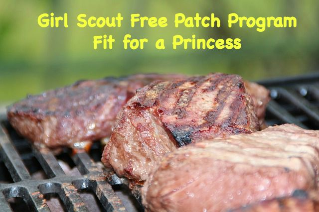 Girl Scouts can earn a free patch from the Fit for a Princess program. It is geared for Juniors and Cadettes.