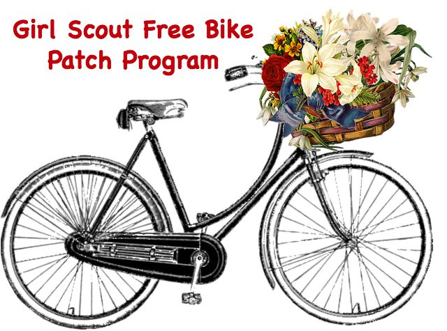This Girl Scout free bike patch program can be earned by anyone. The patches are free to those who live in the Southeast Philadelphia area.