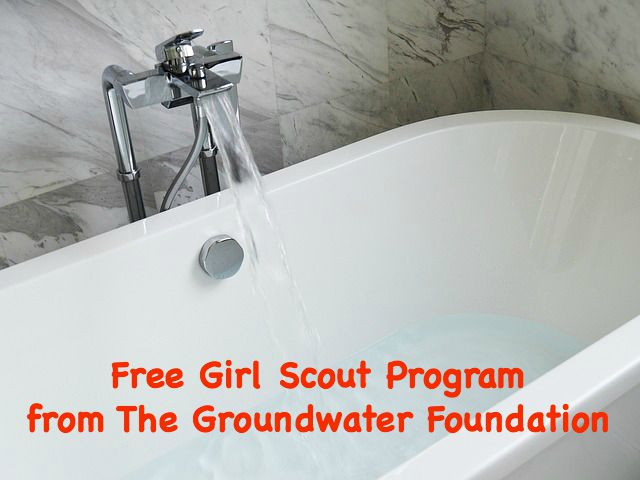 Free Girl Scout prgraom from the Groundwater Foundation in Nebraska. This is for all levels and aligns with the It's Your Planet-Love It! Journeys.