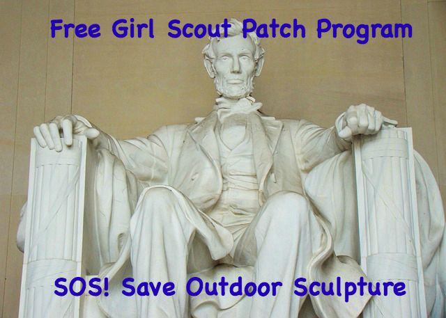 This free Girl Scout patch program from SOS! SAve Outdoor Sculpture is for all levels of scouts. It is perfect for a field trip or a summer meeting.