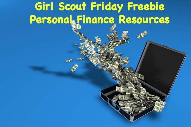 Help your girls earn financial badges and leaves with this Girl Scout Friday Freebie.