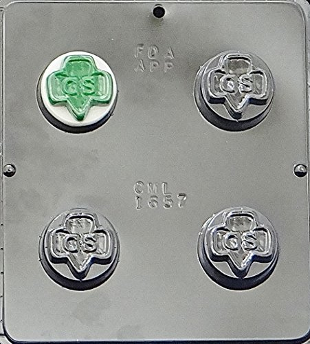 Add pizzazz to your Oreos with this chocolate mold with the Girl Scout logo. It has free shipping!