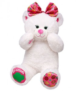Girl Scout Cookies Bear on sale at Build-A-Bear!