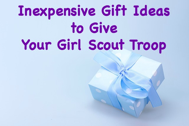 Here are some inexpensive gifts to give the girls in your troop.