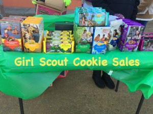 Here is how our Cadette Girl Scout cookie sales are going-with no drama!