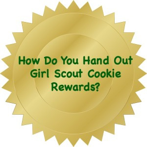 How should Girl Scout leaders handle the rewards girls have earned or not earned? Do you praise only the high sellers or is it a group effort?