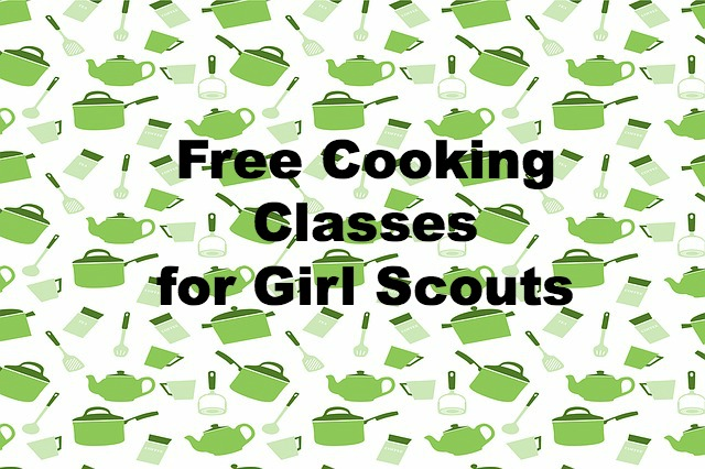 Need a fun and free field trip for your Girl Scout troop? Free kids cooking classes are available for your troop to take!