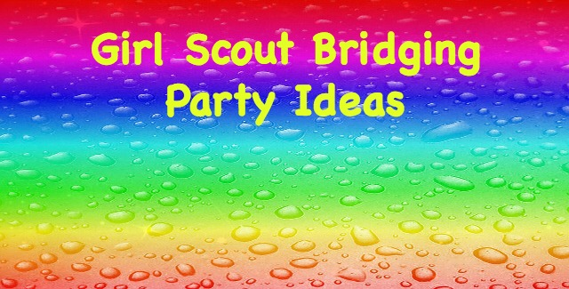 Here are some fun ideas for decorations to create the perfect Girl Scout bridging ceremony celebration!