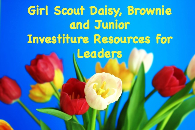 If you are planning on having a Girl Scout Investiture ceremony for your troop, this guide is full of resources for Daisy, Brownie and Junior leaders.