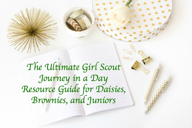 Want to get your Girl Scout Journey requirement over and done? Here is a list of resources for leaders to use from Daisy Scouts to Juniors.