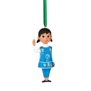 This Daisy Girl Scout Christmas ornament is one your little Scout will cherish now and as she gets older.