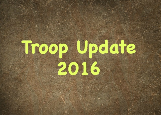 Troop update