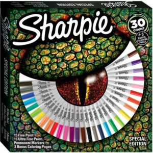 Sharpie Markers 30 count gift set from Walmart is now on sale!