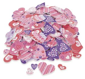 Valentine's Day foam hearts for a multitude of crafts.