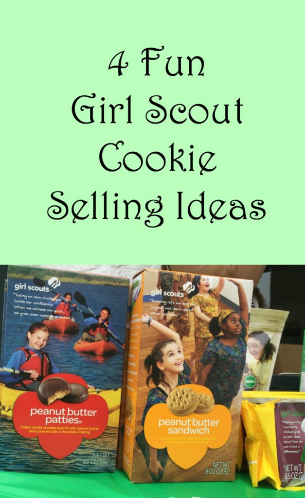 Here are some fun ideas for your troop to use to help them sell Girl Scout cookies at their next booth sale.