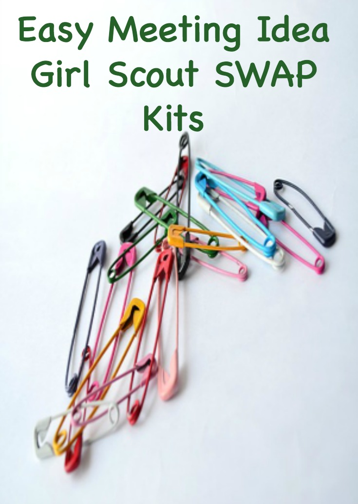 Ready made Girl Scout SWAP kits for your troop to make.