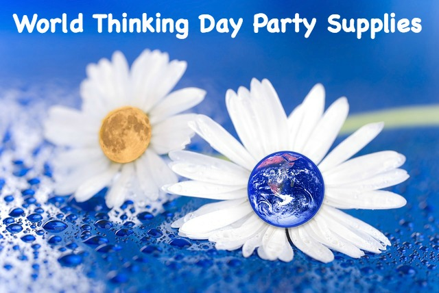 World Thinking Day Party Supplies for you meeting or Council event.
