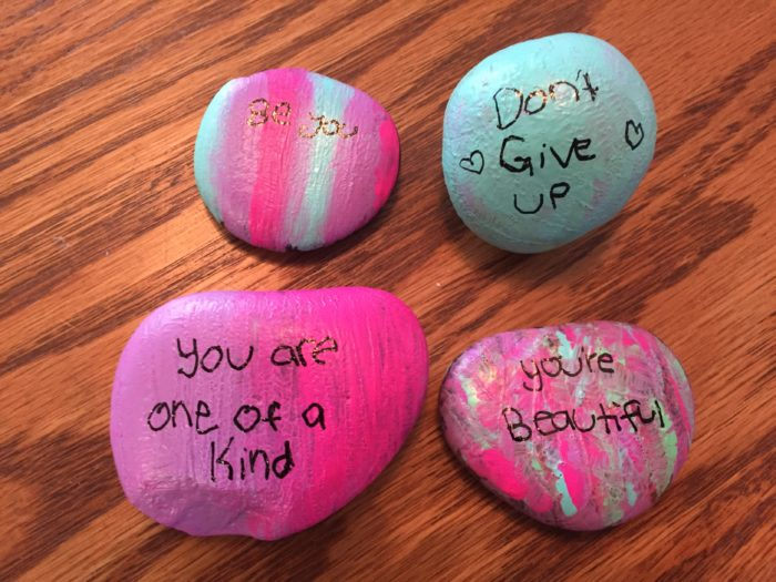 Mission Sisterhood Journey in a Day Friendship Rocks craft
