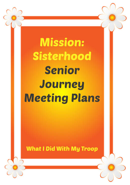 Mission Sisterhood Senior Journey Meeting Plans-What worked for us