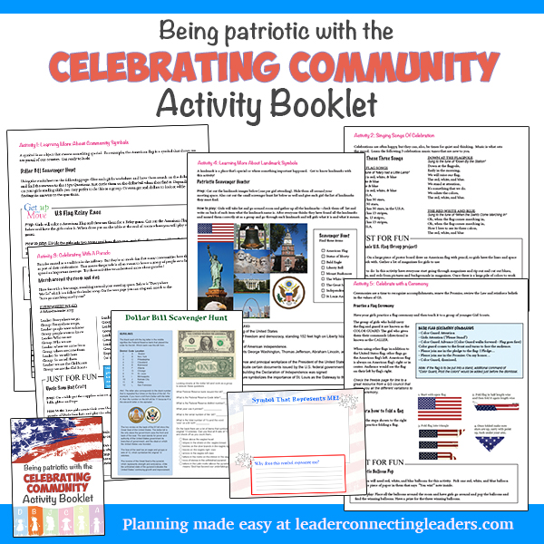 Celebrating COmmunity Activity Booklet from Leader Connecting Leaders