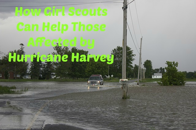 Here are some ways that Girl Scout troops can help those affected by Hurricane Harvey