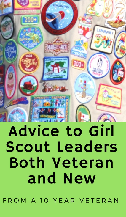 Advice to Girl Scout Leaders Both Veteran and New