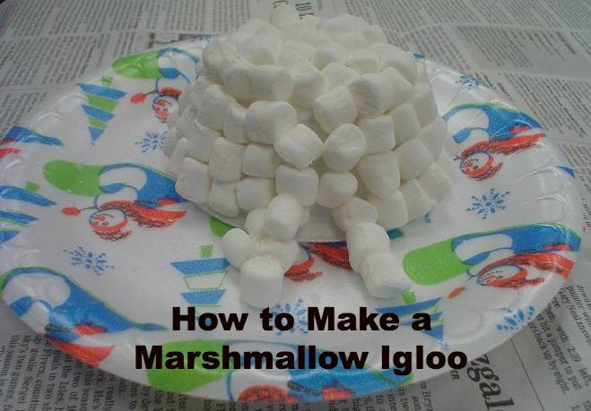 How to Make a Marshmallow Igloo