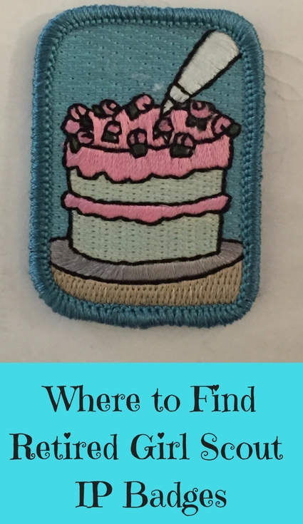Where to Find Retired Girl Scout IP Badges