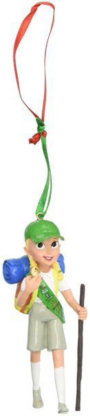 Department 56 Girl Scout Junior Camping Hanging Ornament