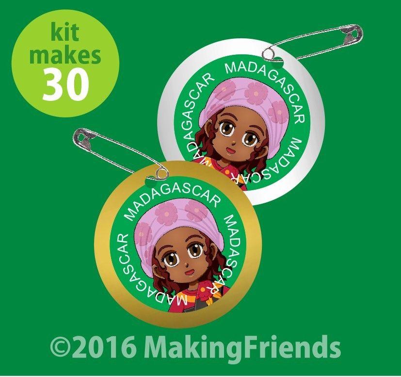 Madagascar World Thinking Day Swap Kit